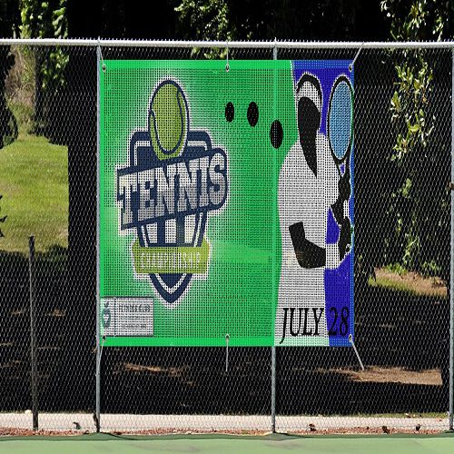 Double Sided Mesh Banners