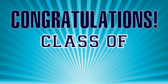 Personalized Year Graduation Banners