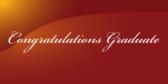 Cursive Graduation Signs