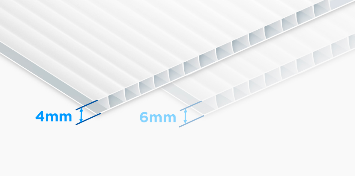 4mm Corrugated                              Plastic
