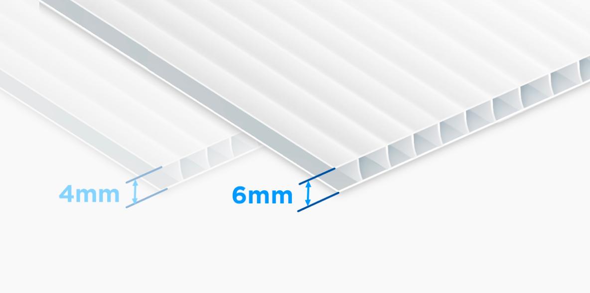 6mm Corrugated                              Plastic