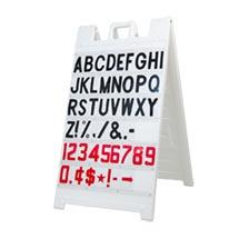 Signicade White Message Board, 3' x 2'