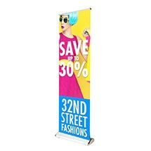 """Double Step, 74"""" x 24"""" 2 Sided Stand"""