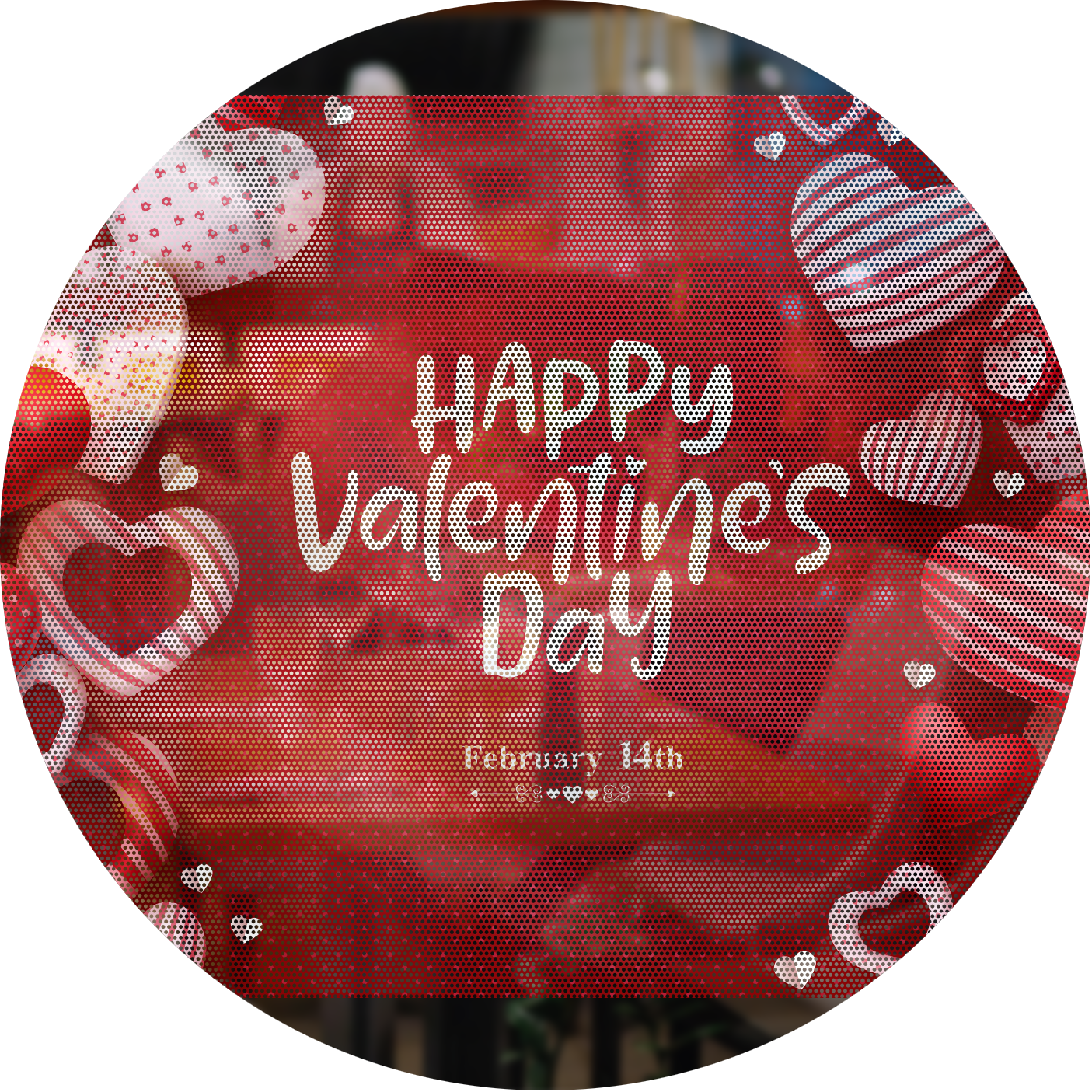 valentines day clear window clings