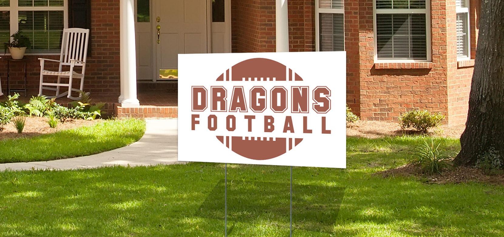 36x36 Yard Sign