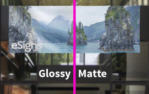Gloss Vinyl Vs Matte Vinyl Banners