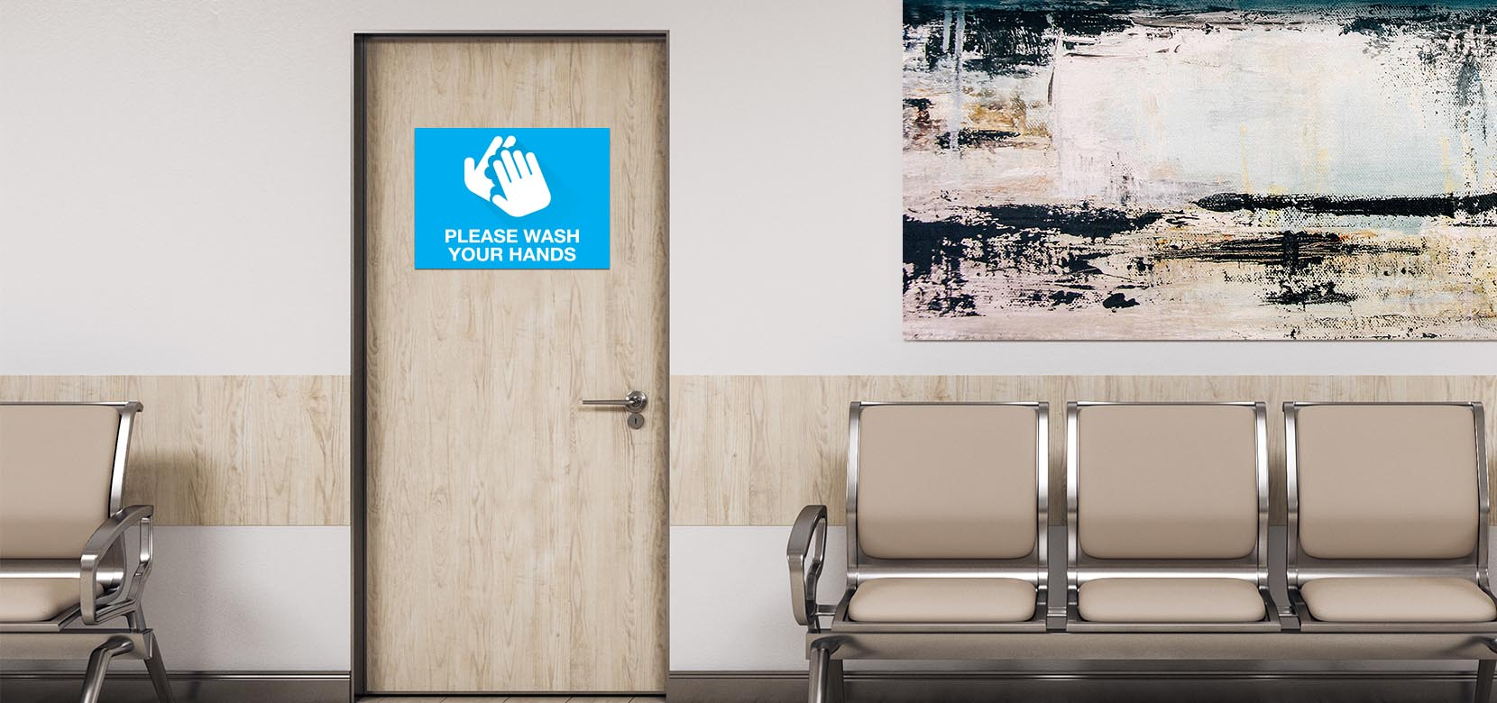 Wash Hands - ePanel 18x24