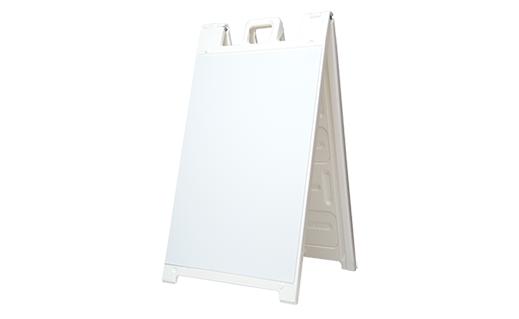 a frame signacade white