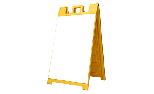a frame signacade yellow