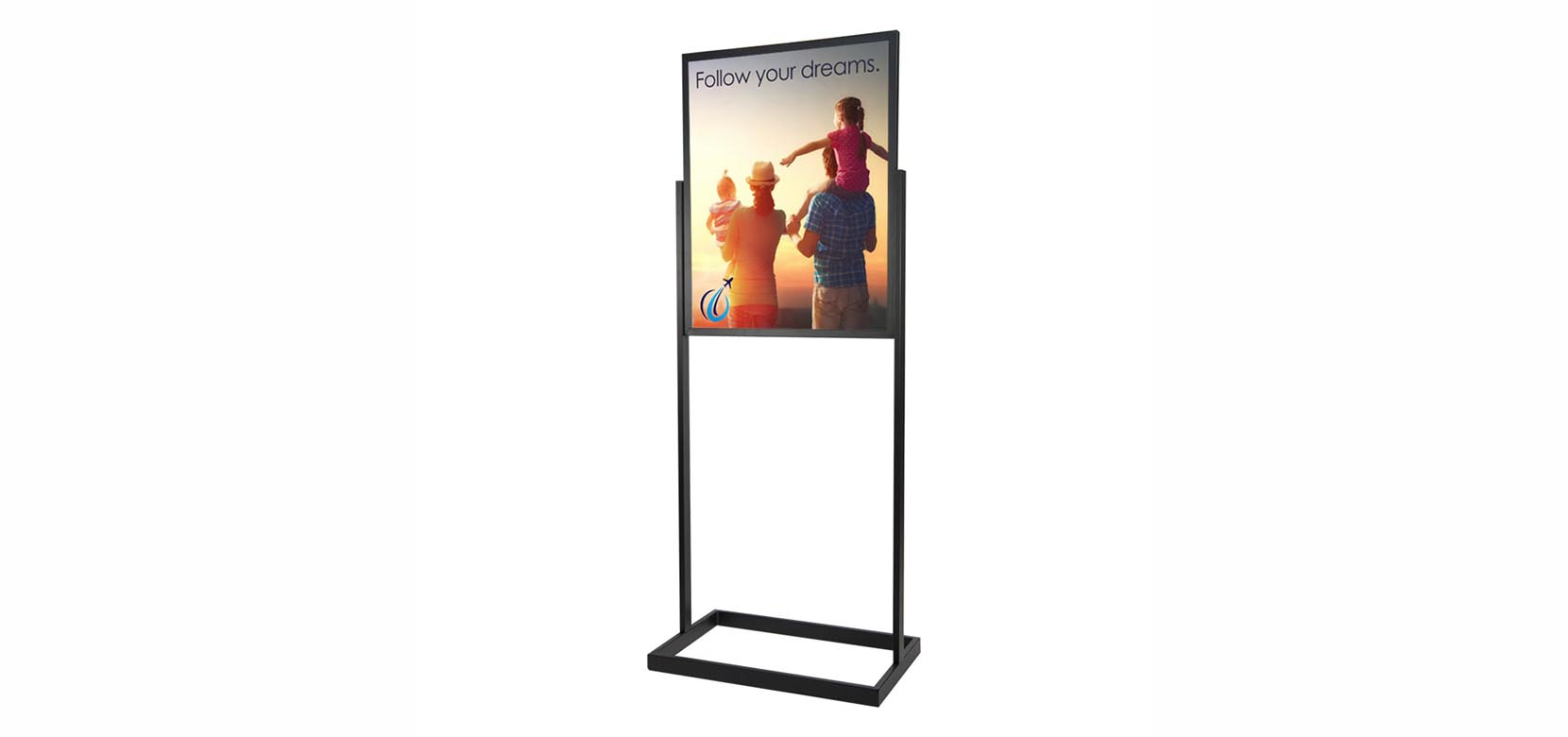 """28"""" Tall x 22"""" Wide Poster Frame With Sign"""