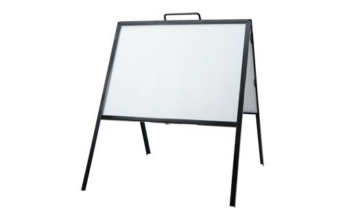 a frame sign metal frame 18x24