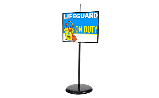 Metal Sign Holder
