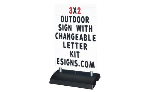 flat base message board