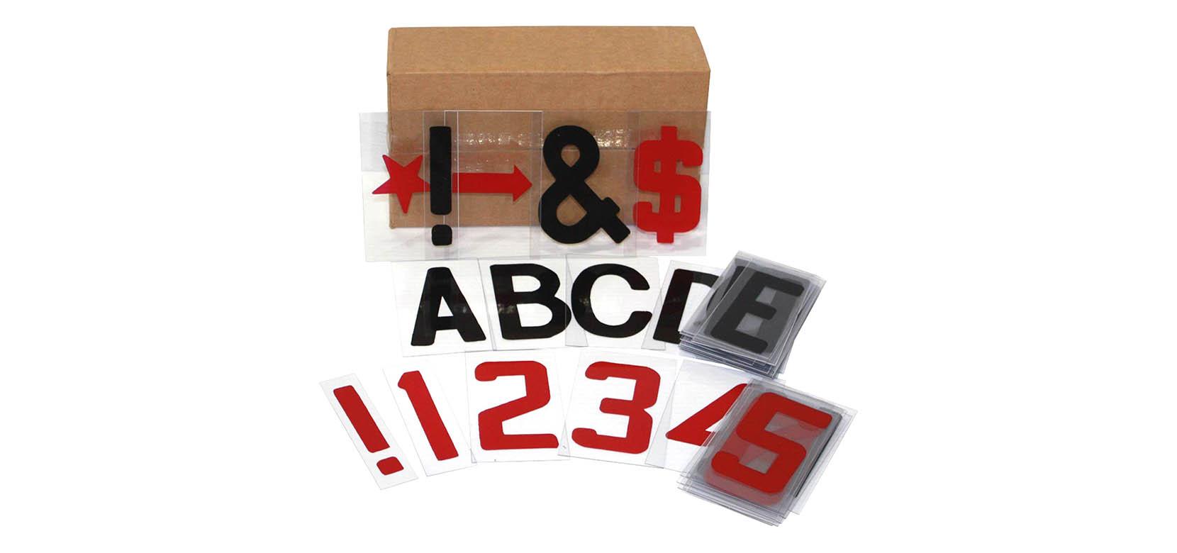 signicade letter kit