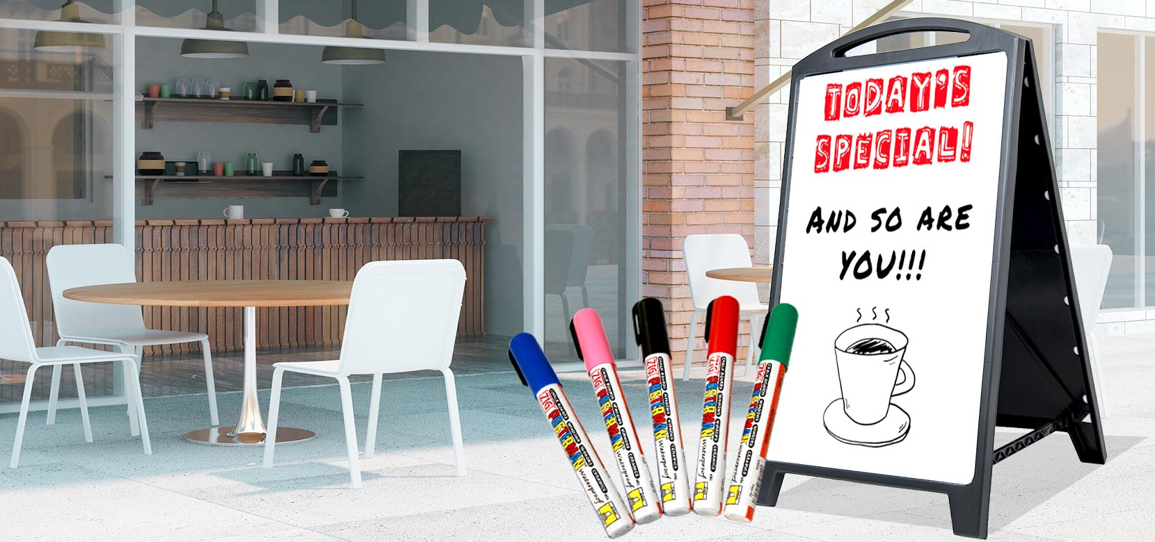 white board dry erase markers