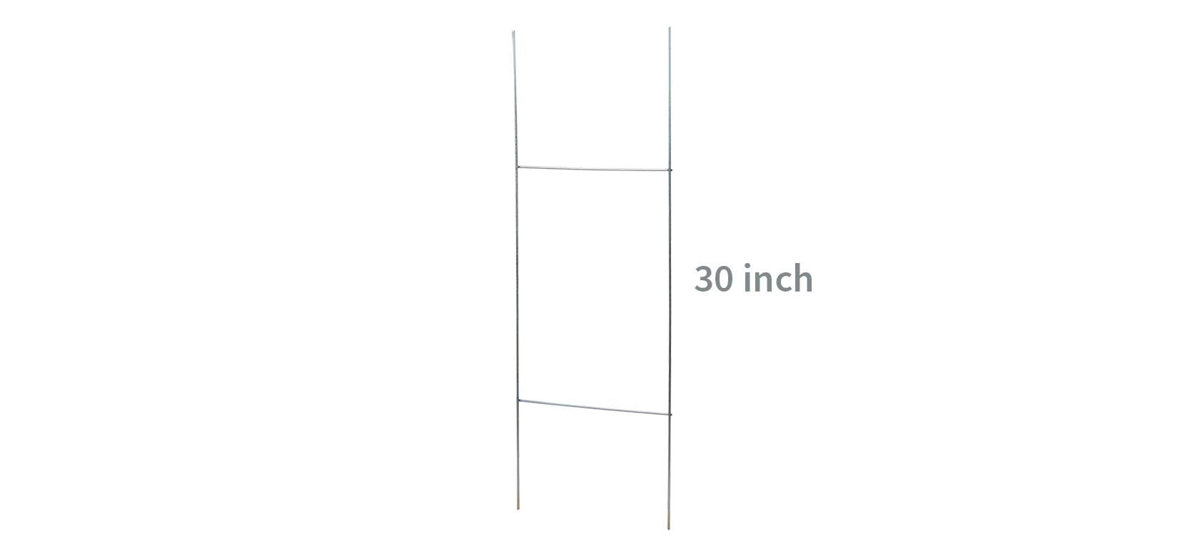 h wire stake frame