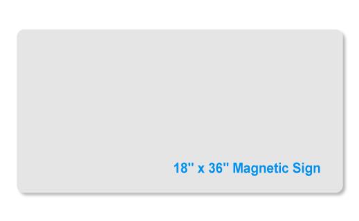 18x36 magnet