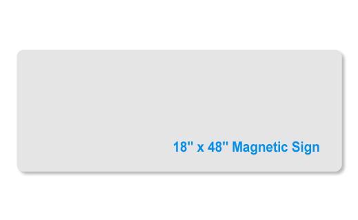 18x48 magnet
