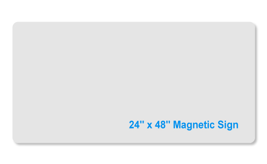 24x48 magnet