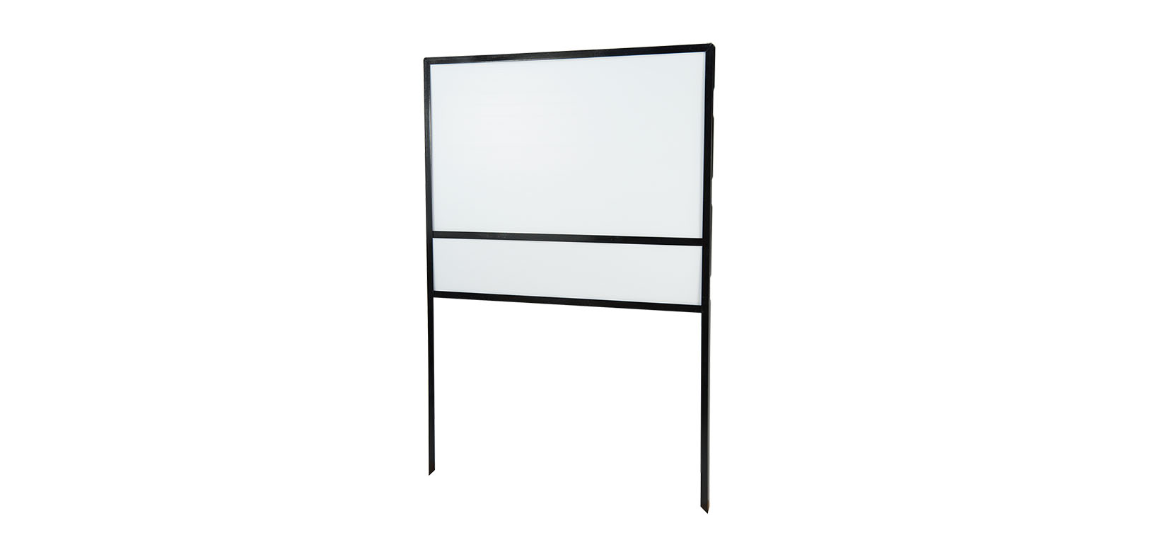 Metal Frame with Blank Panel