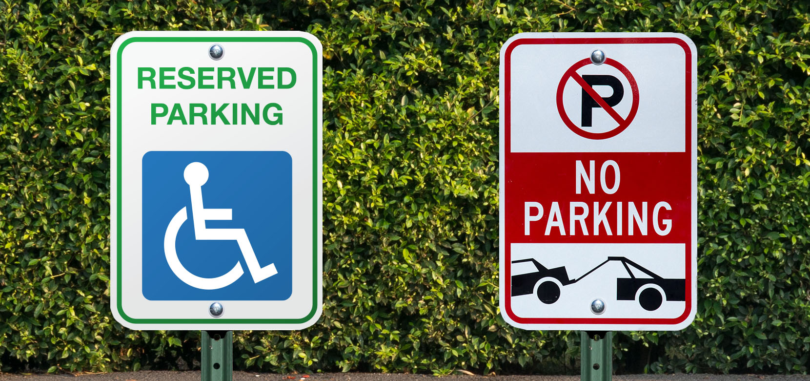 Custom Parking Signs – Perfect for Placing in Front of the Business