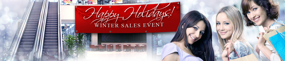 holiday sale signs