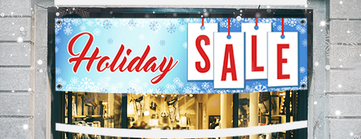 Christmas Sale Signs