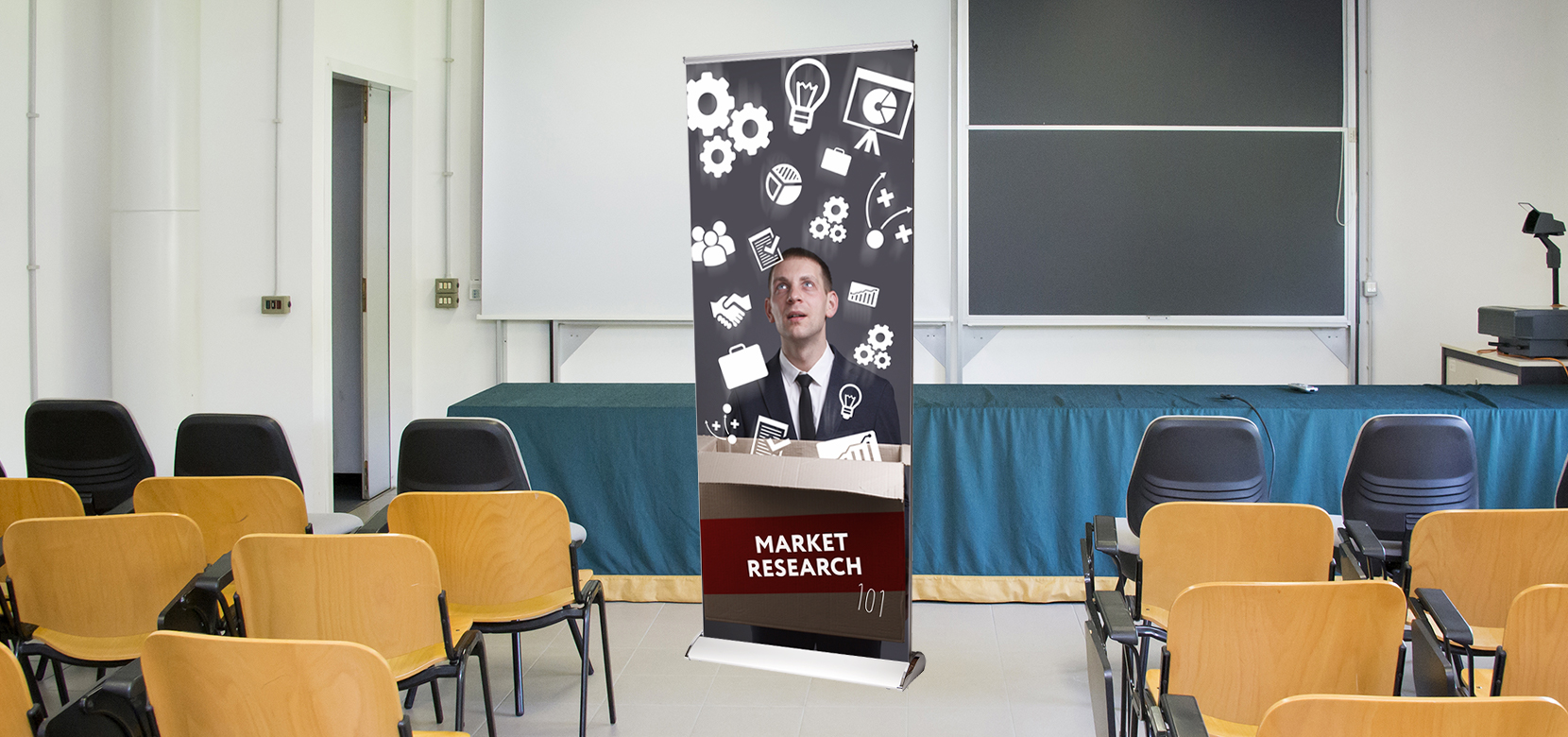 Retractable Banners for Conferences