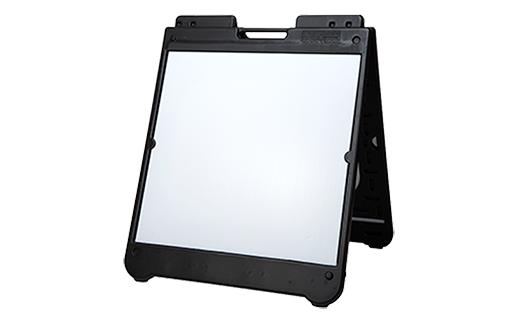 a frame simpo square white