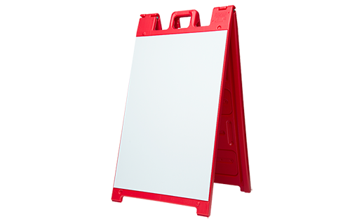 a frame signicade red