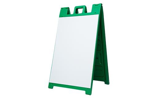 a frame signicade green