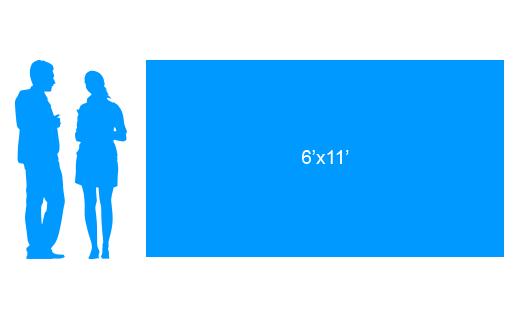 6'x11' To Scale Vinyl Banner