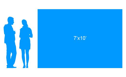 7'x10' To Scale Vinyl Banner