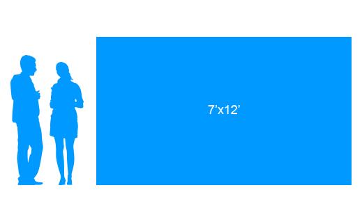 7'x12' To Scale Vinyl Banner