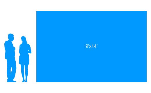 9'x14' To Scale Vinyl Banner