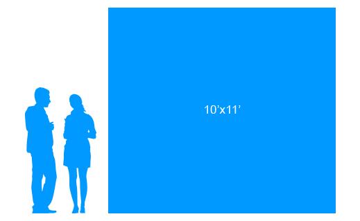10'x11' To Scale Vinyl Banner