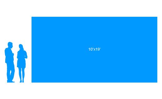 10'x19' To Scale Vinyl Banner
