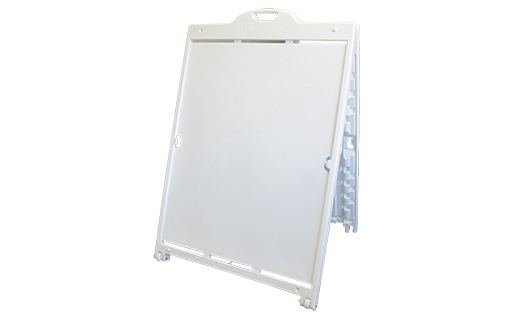 """The Billboard White, 48"""" x 36"""" Frame Only"""
