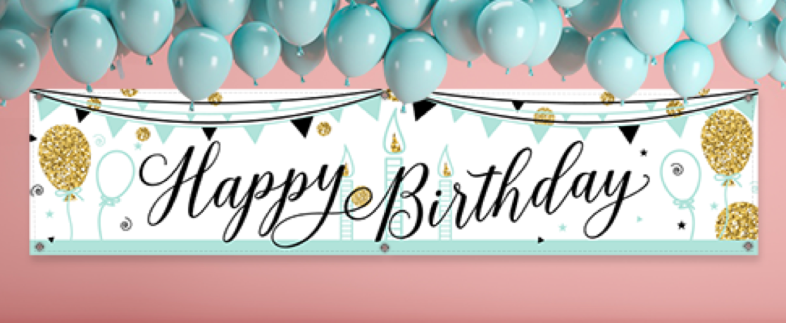 Happy Birthday Sign Designs