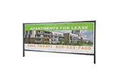 3' x 8' Outdoor Banner Frame