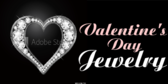 valentines day jewelry banner