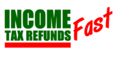 Fast Italicized Red Text Refund Template