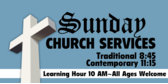 church service sign template