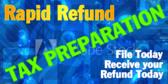 Blue Rapid Refund Template