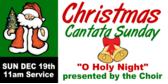 christmas cantata sunday