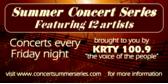 Summer Music Concert Banner