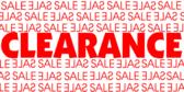clearance sale Big Blue Banner