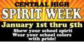 central-high-spirit-week