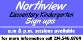 Elementary Kindergarten Sign