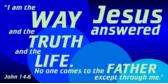 bible verse jesus answered